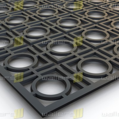 WG-003 Circle in Square Fretwork Grille Panel-01