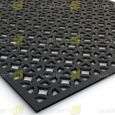 WG-002 Celtic Fretwork MDF Grille Panel