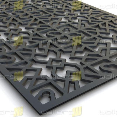 WG-010 Islamic V1 Fretwork MDF Grille Panel