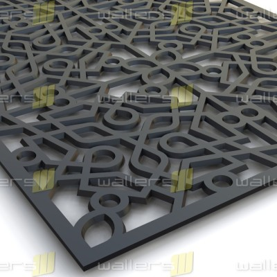 WG-011 Islamic V2 Fretwork MDF Grille Panel