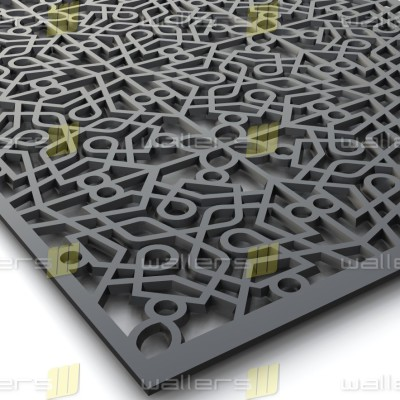 WG-013 Islamic V4 Fretwork MDF Grille Panel