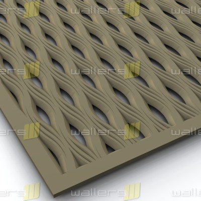 WG-019 Perforation Fretwork MDF Grille Panel