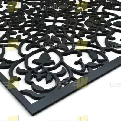 WG-021 Vines Fretwork MDF Grille Panel