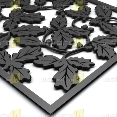 WG-024 Oak Leaves Fretwork MDF Grille Panel