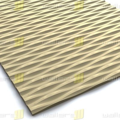 WT-013 Large Linear Weave Pattern MDF Texture Wall Panel